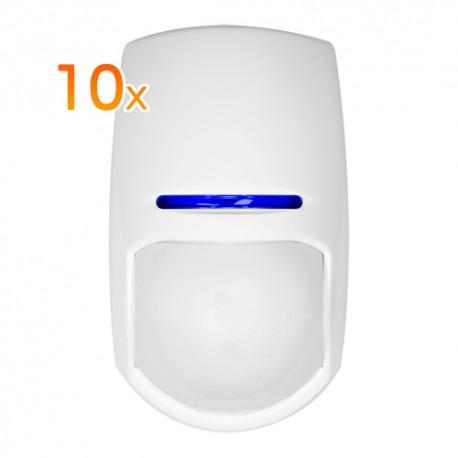Pyronix 10XKX15DT Pack de 10 Detectores Interior