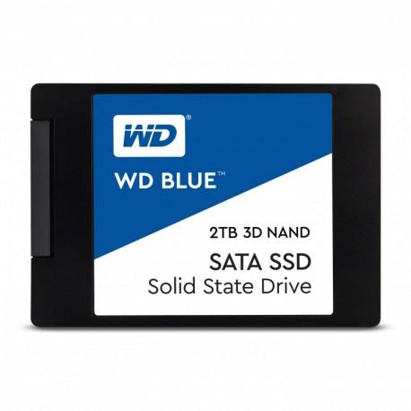 Disco SSD WD Blue 3D 2TB SATA3-560R/530W-95K IOPs - 0718037856315