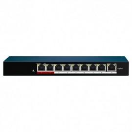 Safire SF-SW0908POE-60 Switch de Mesa PoE 8 Portas PoE + 1 Uplink RJ45 - 8435325433455