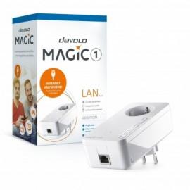 Devolo Magic 1 LAN Adaptador Adicional Velocidade Powerline até 1200Mbps com 1 Porta LAN - PT8294 - 4250059682948