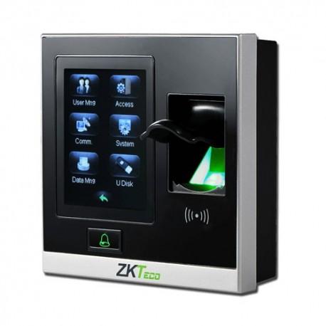 """Zkteco ZK-AC400MF Controlo de Acesso e Presença Biométrico com Controladora Integrada SilkID Teclado e Cartão Mifare LCD 2.8"""" TCP IP RS485 USB e Wiegand 26 para Interior - 8435452861015"""
