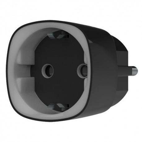 Ajax AJ-SOCKET-B Tomada Inteligente com Controlo Remoto Sem Fios 868 MHz Jeweller até 1000 m Medidor Consumo RGB 230 VAC 11 A 2.5 kW Preto - 0856963007422