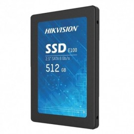 "Hikvision HS-SSD-E100-512G Disco Rígido SSD 512 GB 2.5"" SATA III 6 GB/s NAND Flash 3D-TLC"