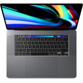 Apple MacBook Pro 16P With Touch Bar: 2.6GHz 6-core 9th-Gen. I7 512GB - Space Grey - 0190199368347