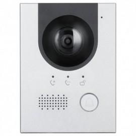X-Security XS-V2202E-2 Videoporteiro de Encastre 2 Fios ou TCP IP 2 Mpx Visão Noite com Áudio PoE Aço Inoxidável Antivandálico IK07 IP55 - 8435325445458