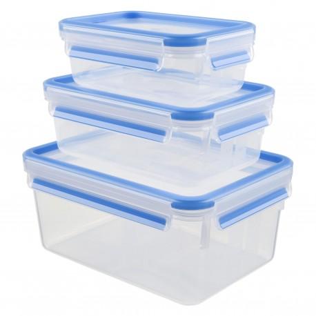 Caixa Hermética Plástico Tefal 2,3l+1l+0,55l - K3028912 - 4168430001229