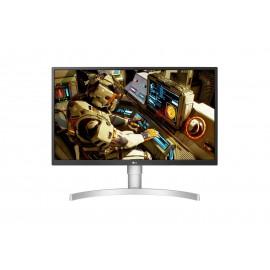 "Monitor LG 27UL550-W 68,6 cm 27"" LED IPS 4K Ultra HD Plano 3840x2160 5ms HDMI Display Port Fosco Branco Prateado - 8806098421091"