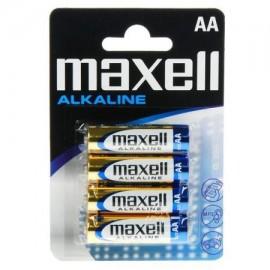 MAXELL-PILHASUPERALC.1,5VLR6(AA)BL4-774409.04.EU - 4902580163693