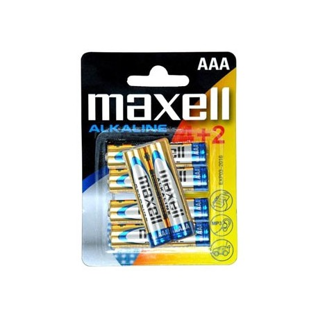 MAXELL- Pilha AL.1,5VLR03(AAA)BL4+2 790240.04 - 4902580164461