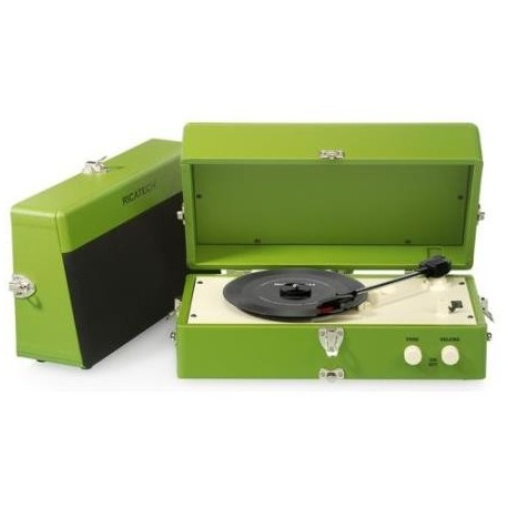 RICATECH - Vintage Turntable RTT80 Green - 8717703563917
