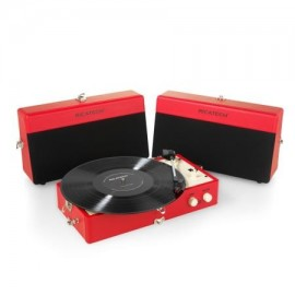 RICATECH - Vintage Turntable RTT80 Red - 8717703563900