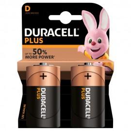 DURACELL - Pilha Alc Plus Power D BL2 LR20-MN1300 - 5000394019171