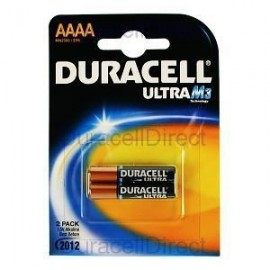 DURACELL - Pilhas Alcalinas 1,5V LR61 AAAA Bl2 - 5000394041660
