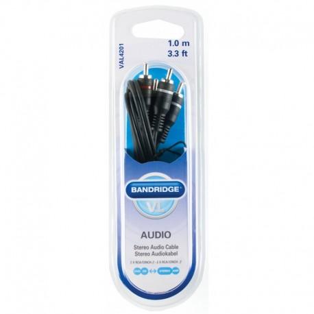 BANDRIDGE - Cabo Audio 1m VAL4201 - 8717587602702