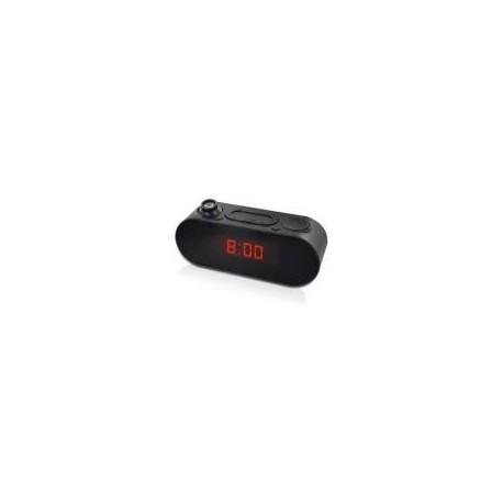 METRONIC 477039 Rádio Relógio Despertador, Preto - 3420744770392