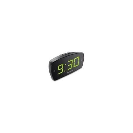 METRONIC 477006 Rádio Relógio Despertador, Preto - 3420744770064