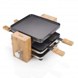PRINCESS - Raclette Pure 4 Bambu Natural 162900 - 8713016037701
