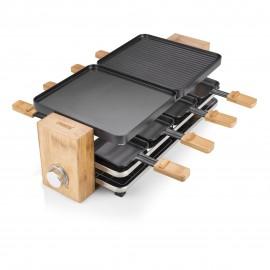 PRINCESS - Raclette Pure 8 Bambu Natural 162910 - 8713016037725