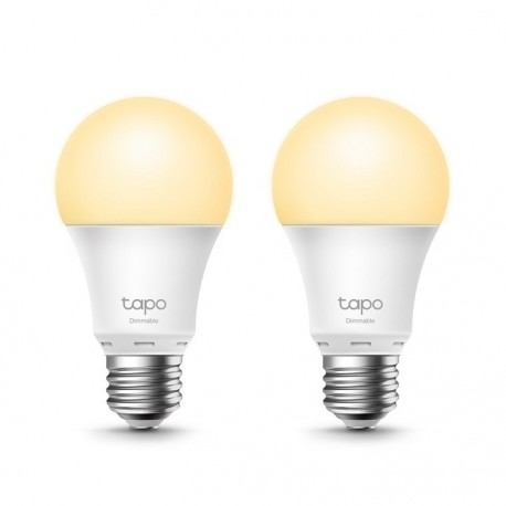 Lâmpada TP-Link Dimmable Smart Light Bulb 2-Pack - 6935364006204