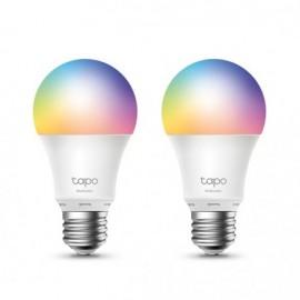 TP-LINK Tapo L530E (2-pack) Smart Wi-Fi Light Bulb Multicolor, 2 Unidade(s) - 6935364006167