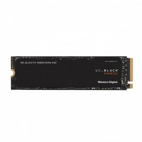 SSD M.2 PCIe NVMe WD 1TB Black SN850 -7000R/5300W-1.000K/720K IOPs - 0718037875934