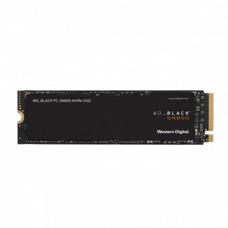 SSD M.2 PCIe NVMe WD 500GB Black SN850 -7000R/4100W-810K/680K IOPs - 0718037875880