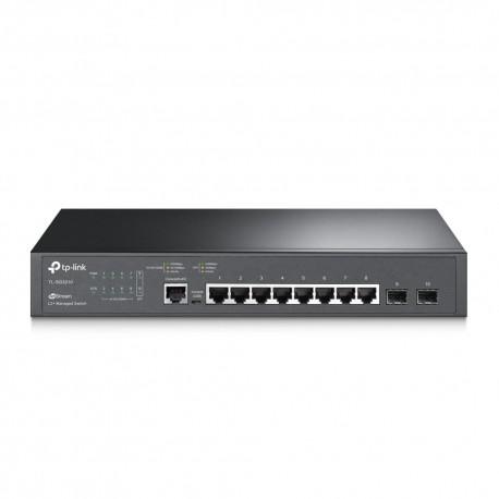 TP-LINK TL-SG3210 switch de rede Gerido L2 Gigabit Ethernet (10/100/1000) Preto - 6935364021634