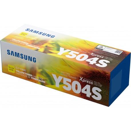HP - Samsung Toner CLT-Y504S Yellow SU502A - 0191628444977