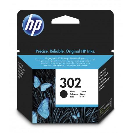 HP - Tinteiro 302 Preto F6U66AE - 0888793803028