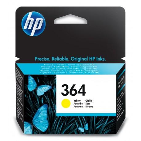 HP - Tinteiro Amarelo Nº 364 TTHPCB320EE - 0883585705528