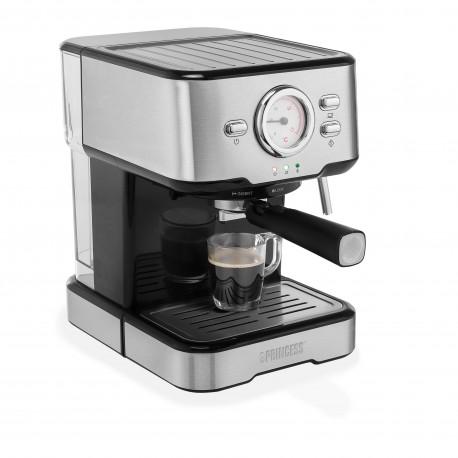 Máquina de Café PRINCESS 249412 Expresso e Cápsulas 1,5 l 1100 W Preto Inox - 8713016094261