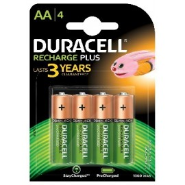 DURACELL - Reca. AA 1,2V 1300mAH- HR6 Bl4 - 5000394039247