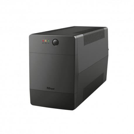 UPS TRUST Ininterrupta De 1000 VA C/ 4 Tomadas Eletricas - 8713439235043