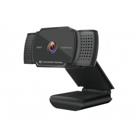 WebCam CONCEPTRONIC AMDIS06B 1080P 2K Interpolated  AUTOFOCUS WITH MICROPHONE - 4015867225042