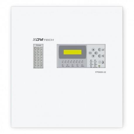 Dmtech DMT-FP9000-24-PT Central de Incêndio Convencional de 24 Zonas com Ecrã LCD 2 Saídas Sirene, Alarme, Falhas, Relé Configurável até 30 Detectores por Zona - 8435325454559