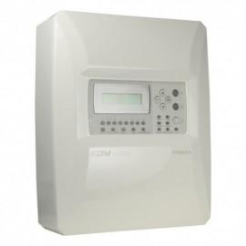 Dmtech DMT-FP9000-8-PT Central de Incêndio Convencional de 8 Zonas com Ecrã LCD 2 Saídas Sirene, Alarme, Falhas, Relé Configurável até 30 Detectores por Zona - 8435325454535
