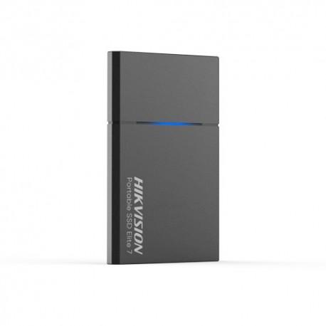 "Hikvision HS-ESSD-ELITE7-G-500G Disco Rígido Portátil SSD 1.8"" 500 GB USB-C 3.2 1060 MB/s IPX7 Alumínio"