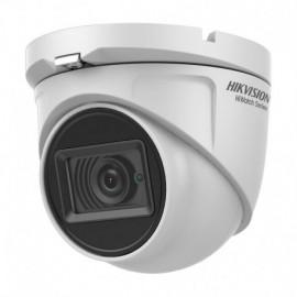 Hiwatch HWT-T120-MS CâmaraHD 1080p 4 em 1 HDTVI HDCVI AHD CVBS 2.8 mm IR20m Microfone IP66