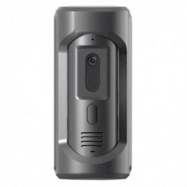 X-Security XS-V2101E-IP-V2 Videoporteiro IP 2 Mpx Grande Angular WDR Áudio Bidireccional PoE IP65 IK10 Aço Inoxidável Antivandalismo, APP Móvel - 8435325452029