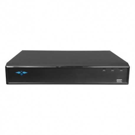 X-Security XS-XVR6116AS-4KL-2FACE Videogravador 5n1 16 CH HDTVI/HDCVI/AHD/CVBS (8Mpx) + 16 IP (8Mpx) - 8435325450551