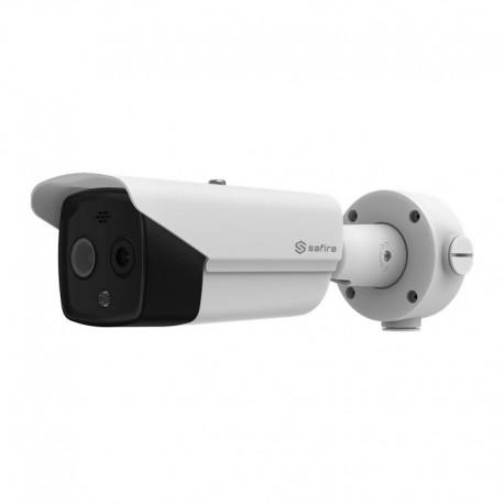 Safire SF-IPTB011DHA-3D4 Camara termica Dual IP Safire 160x120 VOx Lente 3.1mm - 8435325453156