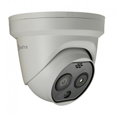 Safire SF-IPTD011DHA-6D4 Camara Turret termica Dual IP Safire 160x120 VOx Lente 6.2mm - 8435325453170