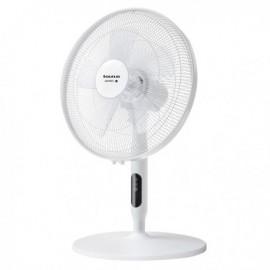 TAURUS ICE BRISE Ventoinha 40 cm, 50 W, Botões, LED, 3 Velocidades, 3 Alturas, Branco - 947 265 - 8414234472656