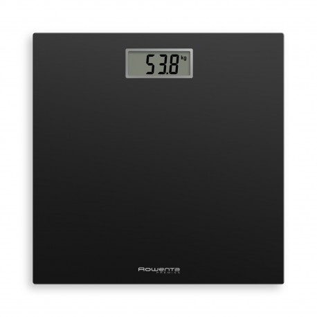 Rowenta Premiss BS1400 Quadrado Preto Balança Pessoal Eletrónica até 150 kg (100g) Preto - 3121040078921
