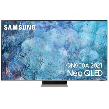 """TV QLED Samsung Series 9 QE75QN900AT 190,5 cm 75"""" 8K Ultra HD Smart TV Wi-Fi Prateado, Inox - QE75QN900ATXXC - 8806092020429"""