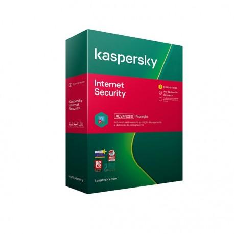 Software Kaspersky Internet Security 2021 2 User 1 Ano - 5056244911065