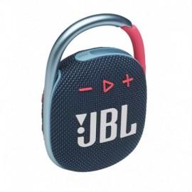 Coluna Portatil JBL CLIP 4 BT IPX7 Azul/Rosa - 6925281979309