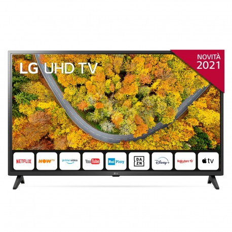 "TV LED LG 43UP75006LF 109,2 cm 43"" 4K Ultra HD Smart TV Wi-Fi Cinzento - 8806091218018"