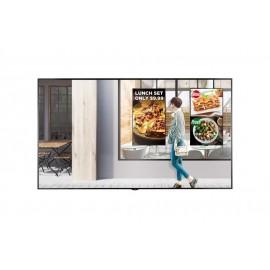 "Monitor LG Digital Signage 75"" UHD 2500cd m2 HDMI DP DVI RJ45 IR RS232C USB - 8806098323258"