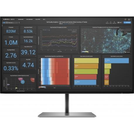"Monitor HP Z27q G3 QHD 68,6 cm 27"" LED Quad HD Prateado - 1C4Z7AA - 0195122261146"